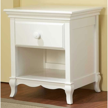 Pali Mantova Series Nightstand in White