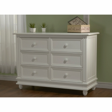Pali Marina Double Dresser in White