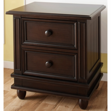 Pali Marina Nightstand in Onyx