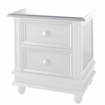 Pali Marina Nightstand in White