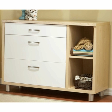 Pali Milano Dressing Chest in White/Natural