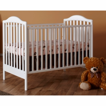 Pali Norma Crib in White