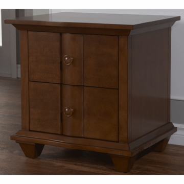 Pali Onda Nightstand in Walnut