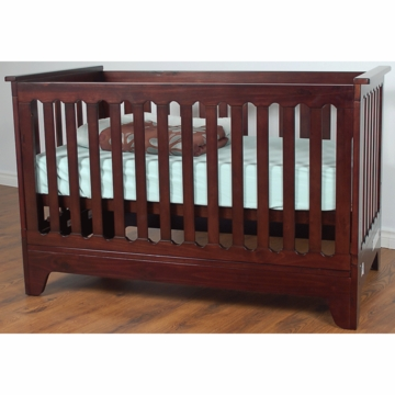 Pali Presto Folding Crib in Mocacchino