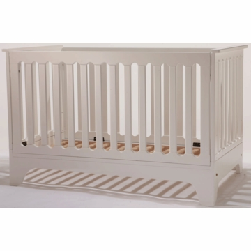 Pali Presto Folding Crib in White