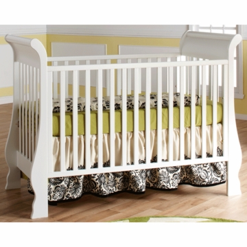 Pali Rosa Crib in White