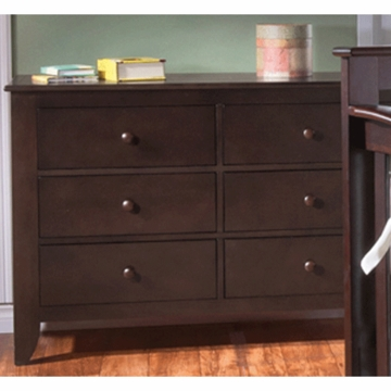 Pali Salerno Double Dresser in Mocacchino