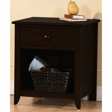 Pali Salerno Nightstand in Mocacchino