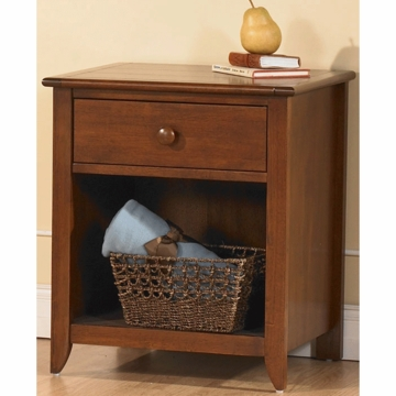 Pali Salerno Nightstand in Sienna
