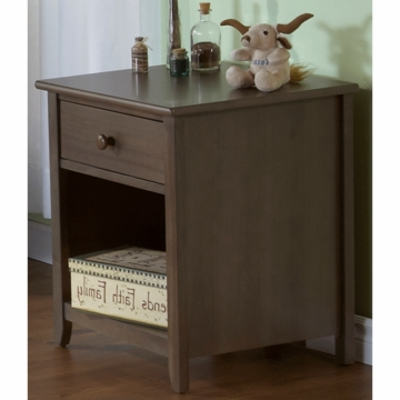 Pali Salerno Nightstand in Slate