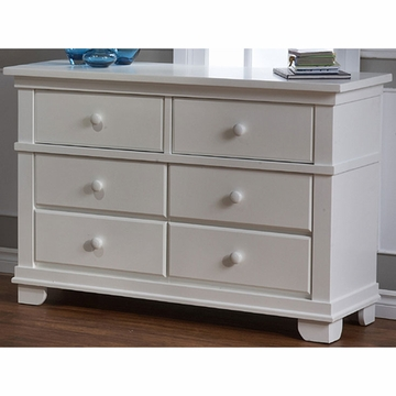 Pali Torino Series Double Dresser in White