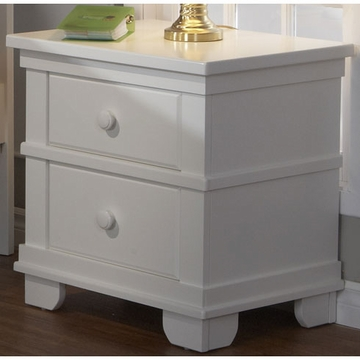 Pali Torino Series Nightstand in White