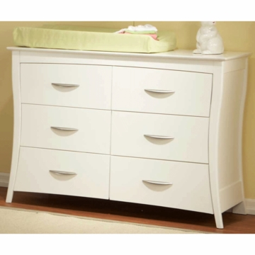 Pali Trieste Double Dresser in White