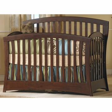 Pali Trieste Forever Crib in Vintage Cherry