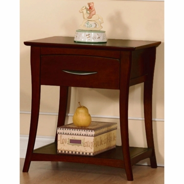 Pali Trieste Nightstand in Vintage Cherry