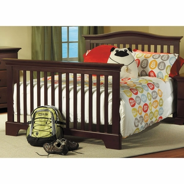 Pali Universal Bed Rail in Vintage Cherry
