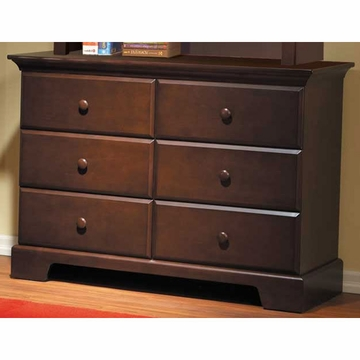 Pali Volterra Double Dresser in Vintage Cherry