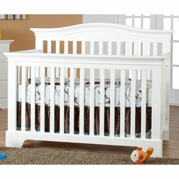 Pali Volterra Forever Crib in White