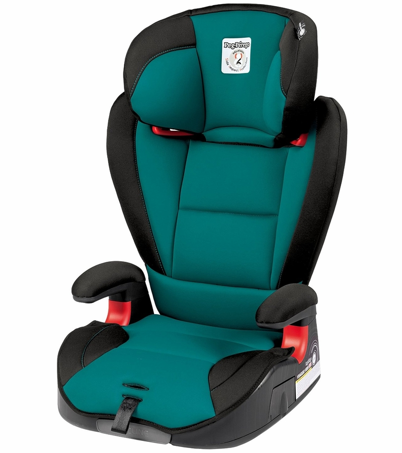 Peg Perego Hbb 120 High Back Booster Car Seat Aquamarine