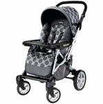 Peg Perego Uno Full Size Stroller - Pois Grey