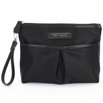 Perry Mackin Carry Clutch - Black