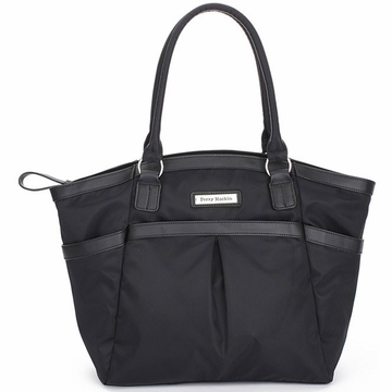 Perry Mackin Harper Diaper Bag in Black