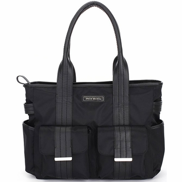 Perry Mackin Zoey Diaper Bag in Black