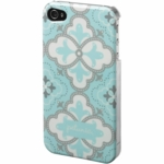 Petunia Pickle Bottom Adorn iPhone 5 Case in Classically Crete