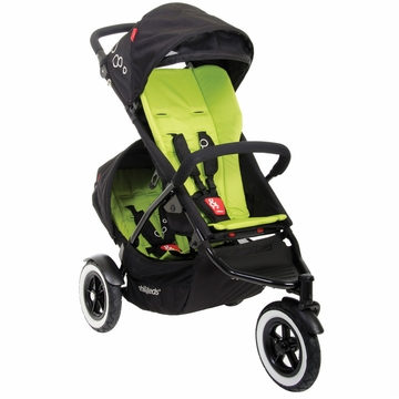 Phil & Teds Dot Double Buggy - Apple