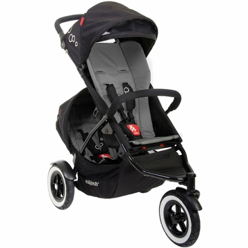 Phil & Teds Dot Double Buggy - Flint