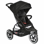 Phil & Teds Explorer Buggy Stroller in Black