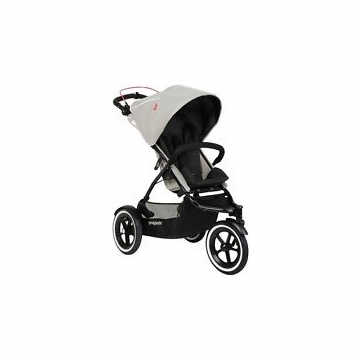 Phil & Teds Navigator 2 Buggy - Silver