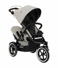 Phil & Teds Navigator 2 Buggy with Doubles Kit - Silver