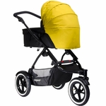 Phil & Teds Navigator Carry Cot Sunhood - Golden Kiwi