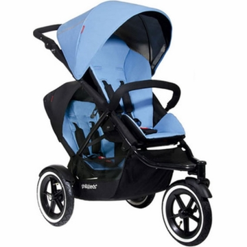 Phil & Teds Navigator Double Buggy - Sky