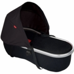 Phil & Teds Peanut Bassinet for Vibe in Black/Red