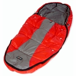 Phil & Teds Snuggle & Snooze Sleeping Bag in Red/Charcoal