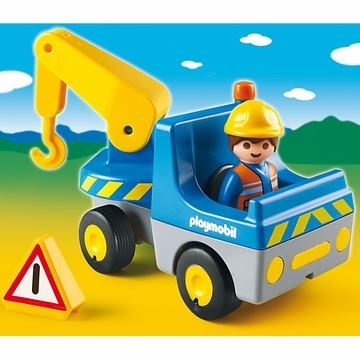 Playmobil 1.2.3 Tow Truck