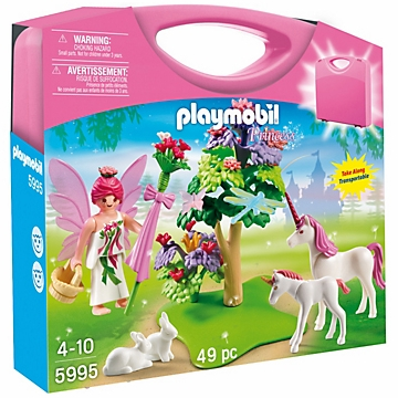 Playmobil Carrying Case - Fairy