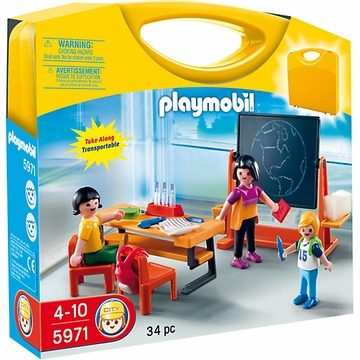 Playmobil Carrying Case - School