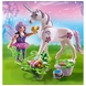 "Playmobil Food Fairy with Unicorn ""Morning Dew"""