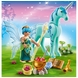 "Playmobil Healer Fairy with Unicorn ""Sapphire Night"""
