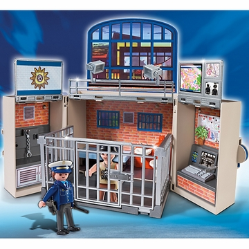 Playmobil My Secret Police Station Play Box