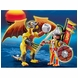 Playmobil Stone Dragon with Warrior