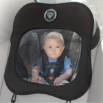 Prince Lionheart Baby View Mirror in Black/Grey