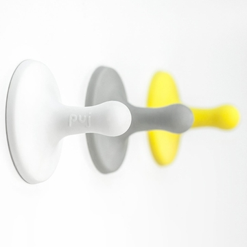 Puj Nubs 3 Pack - White, Grey, Yellow