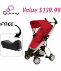 Quinny Zapp Xtra FREE Travel Bag and Extended Warranty