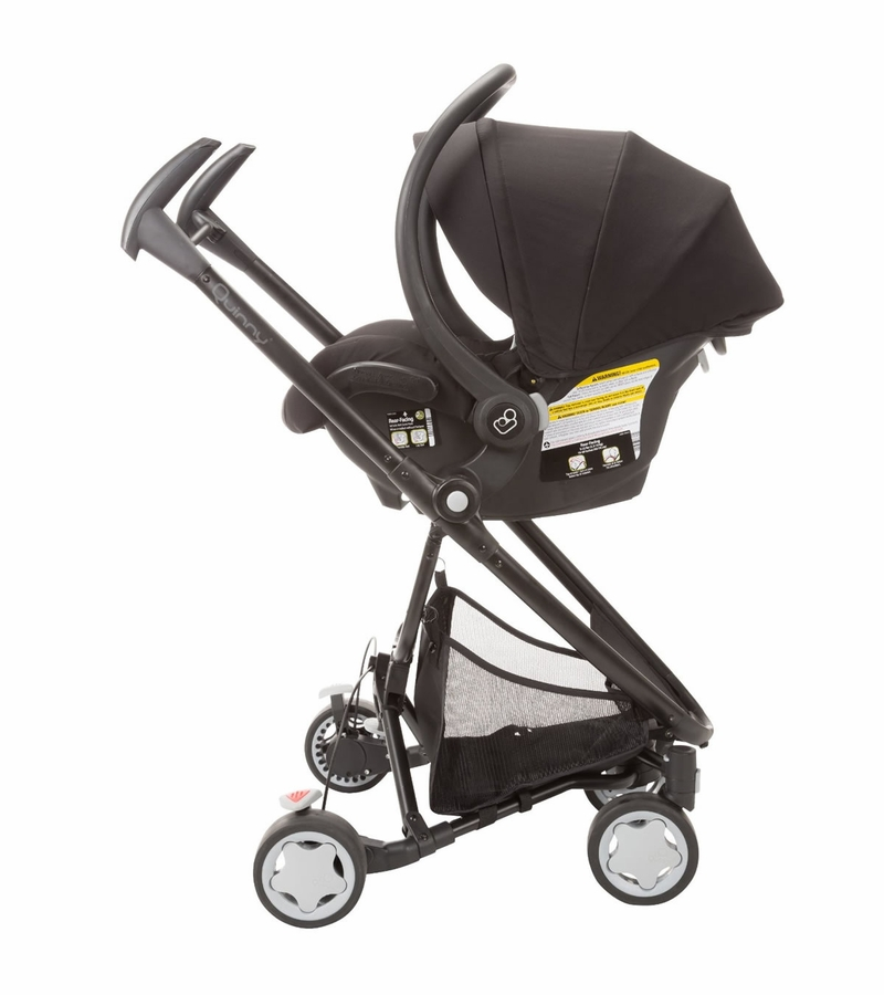 Black stacking chairs - Quinny Zapp Xtra Maxi Cosi Mico Ap Travel System Black