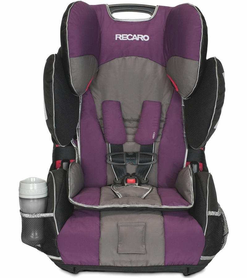 RECARO Performance SPORT Combination Harness to Booster Car Seat - Plum