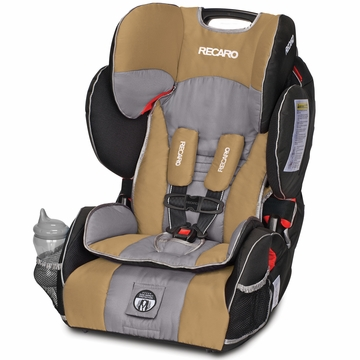 RECARO Performance SPORT Combination Harness to Booster Car Seat - Slate